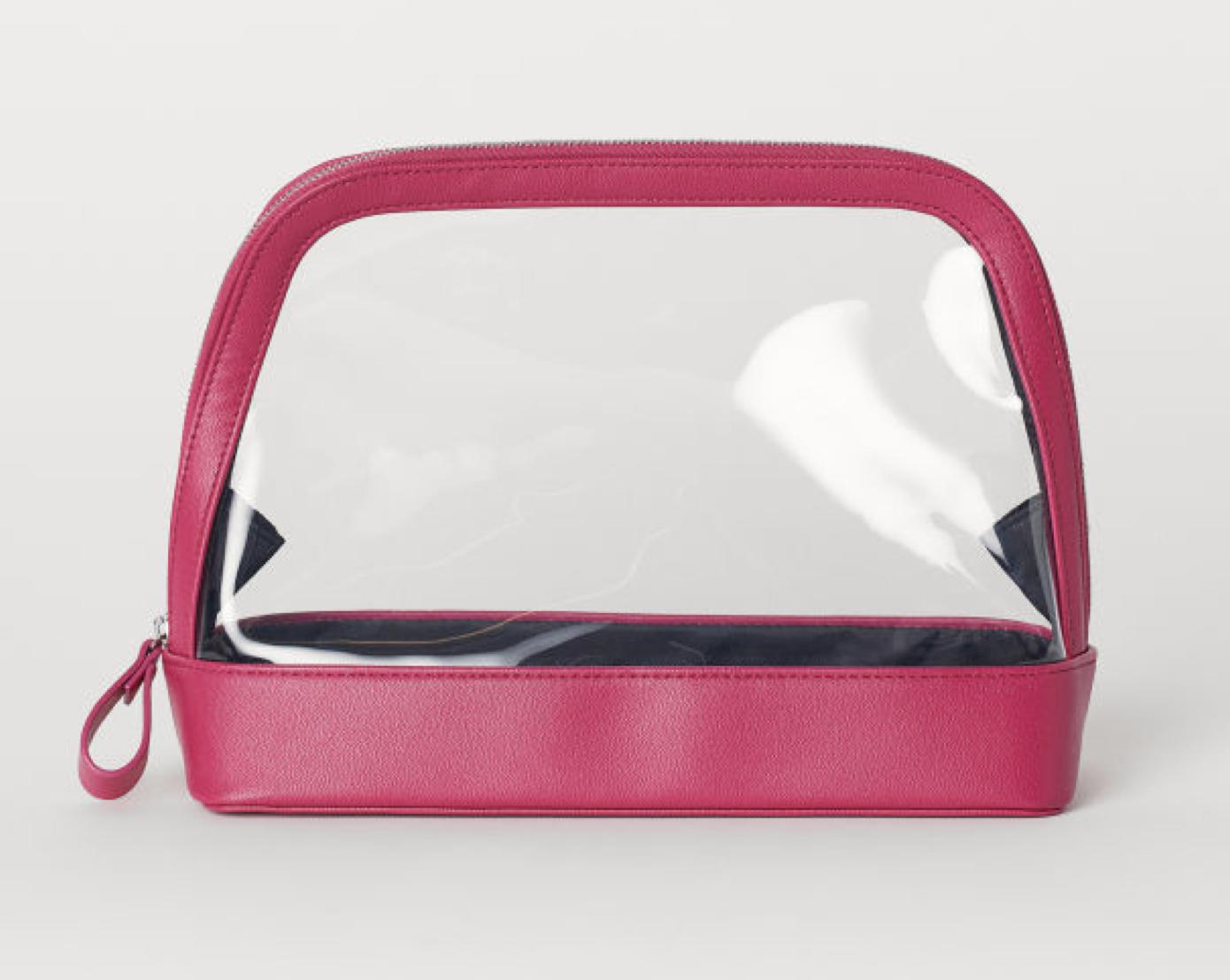 Transparent Toiletry Bag