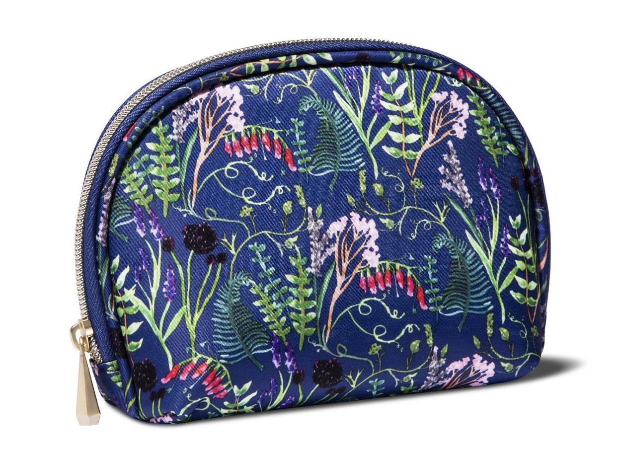 Round Top Impressionist Makeup Bag