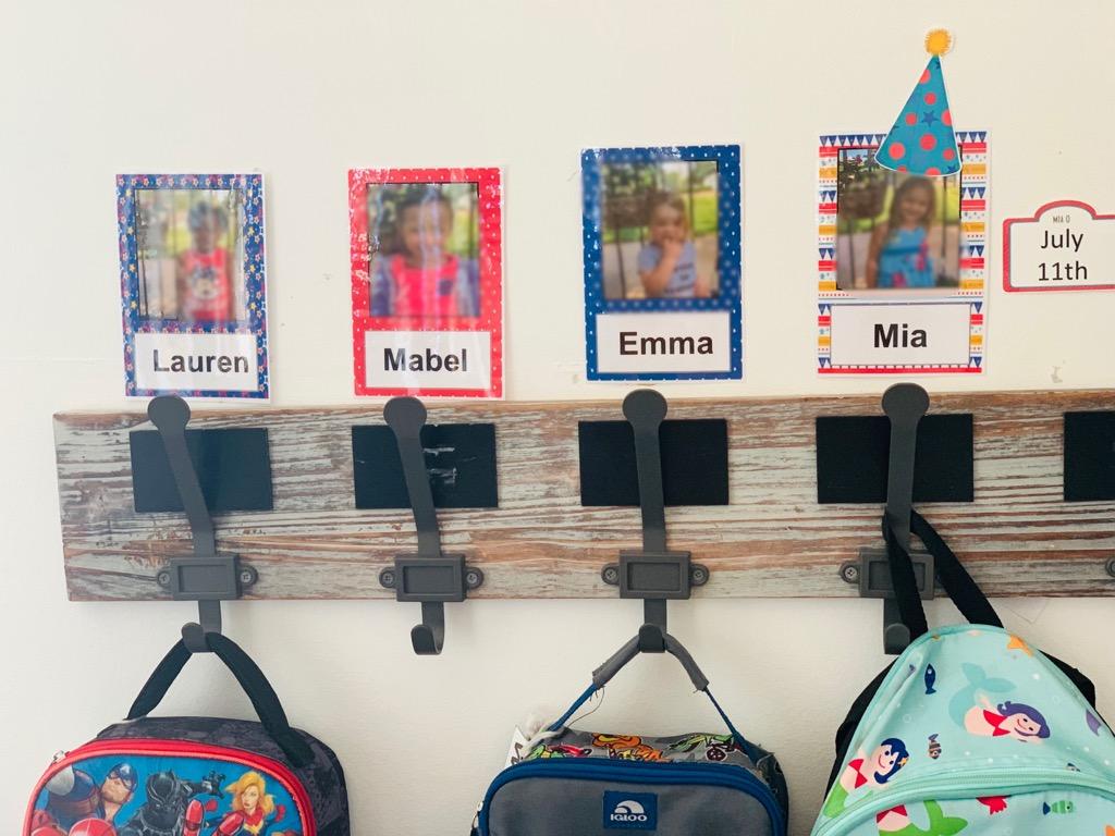 Early Teachers Editable Cubby Tags