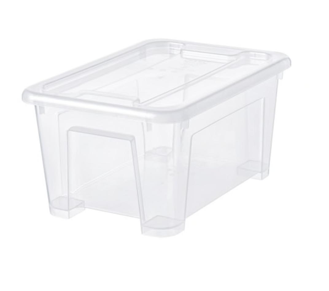 SAMLA Box With Lid - Ikea