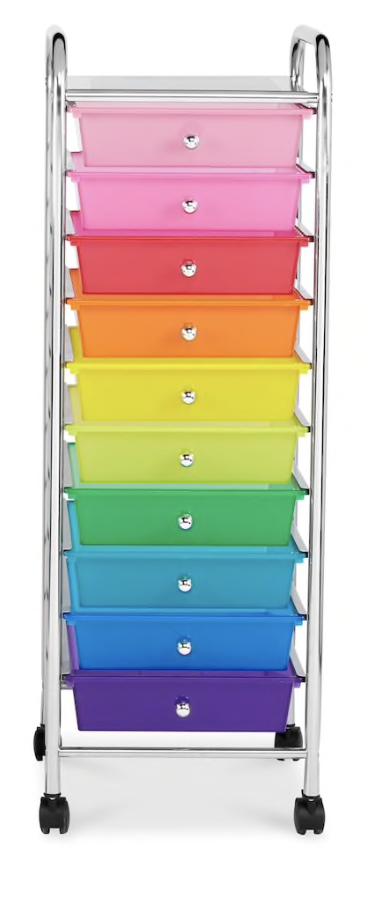 10 drawer roller organizer