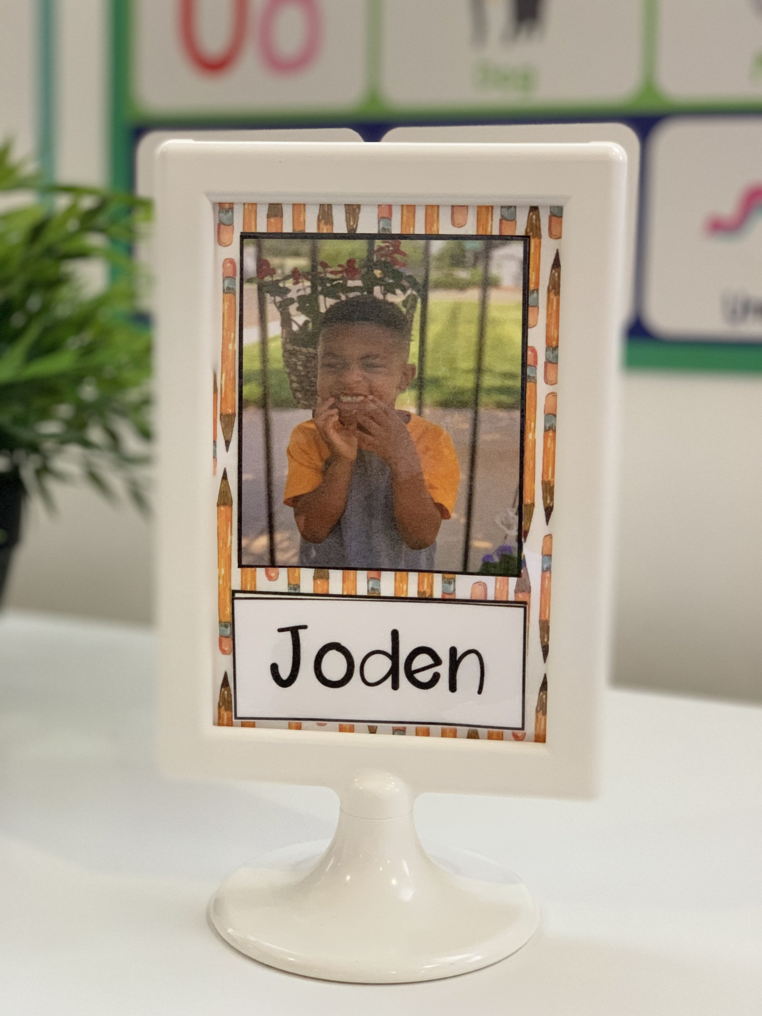 Back To School Cubby Tags