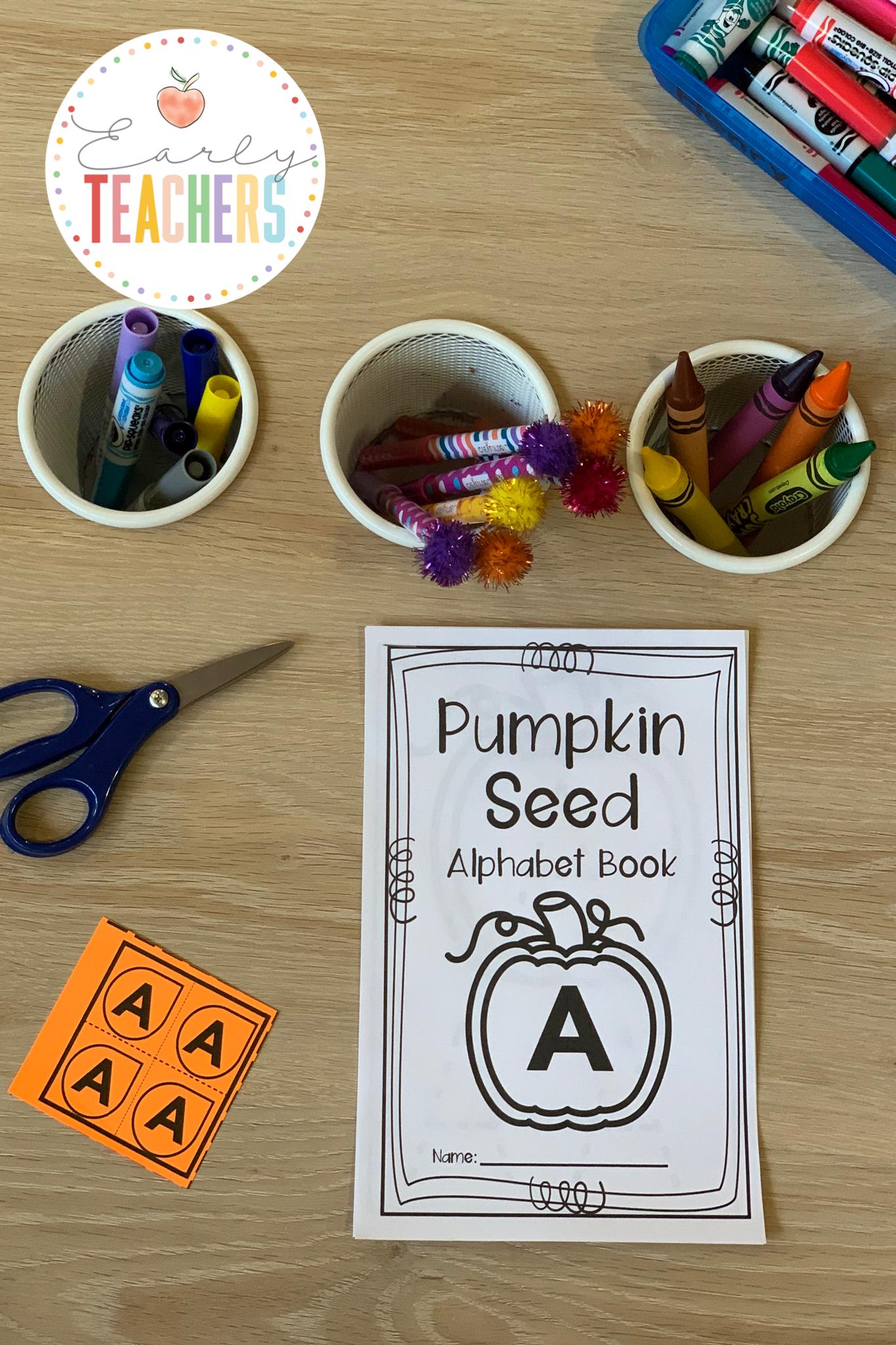 Pumpkin Alphabet Booklet - Early Teachers