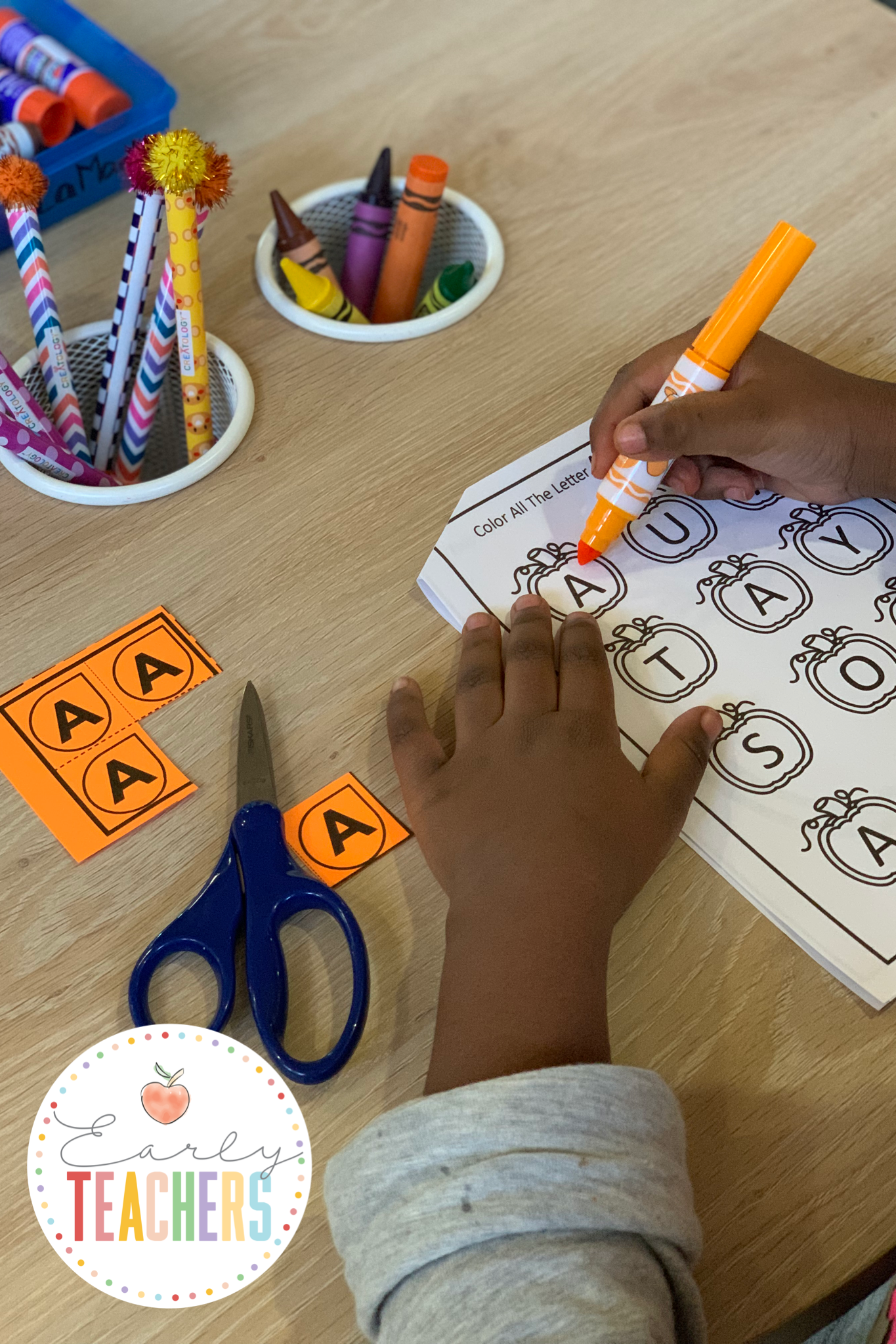 Alphabet search and find - Early Teachers