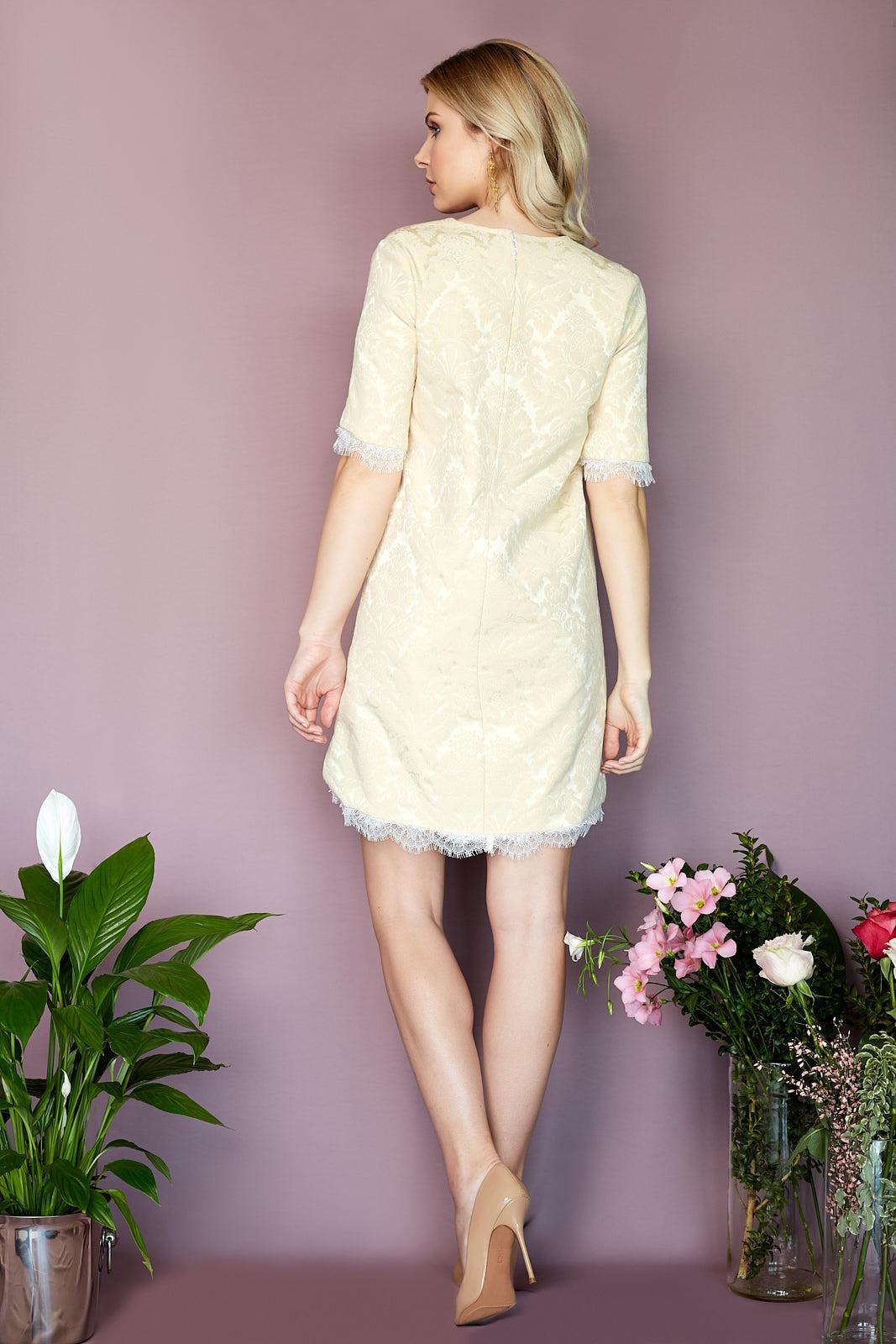 ROMA Dress Beige