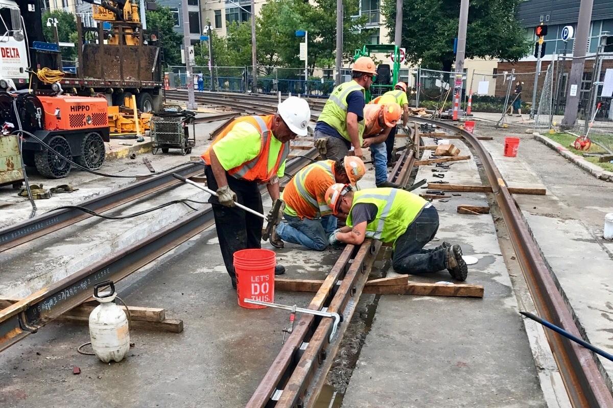RAILROAD CONSTRUCTION -