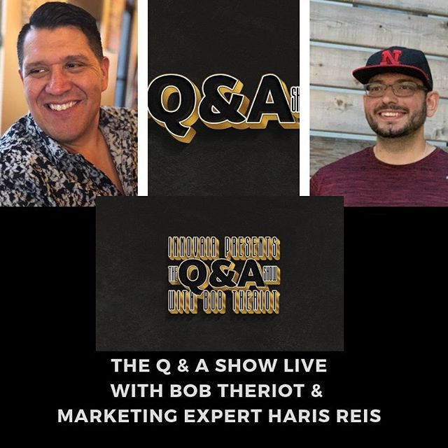 "Join me tonight on ""The Q & A Show"" at 7pm mountain time. I will be interviewing digital marketing Expert, Haris Reis. Tune in on our Facebook Page https://www.facebook.com/TheQandAShow/ #show #interview #qanda #marketing #digitalmarketing #onlinemarketing #local #localmarketing #elpaso #elpasotx #915 #entrepreneur #businessmarketing #instagram #facebook #snapchat #google #googleads #funnels #salesfunnels #marketingsystem #money #tips #hashtags4likes"