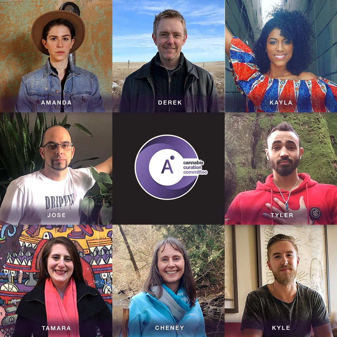 AHLOT'S CANNABIS CURATION COMMITTEE - Featuring Tamara (CannaLily Consulting) and 7 other unique and diversely talented individuals (selected from 25000 applicants). Find out more about each member at www.ahlot.com/ccc.
