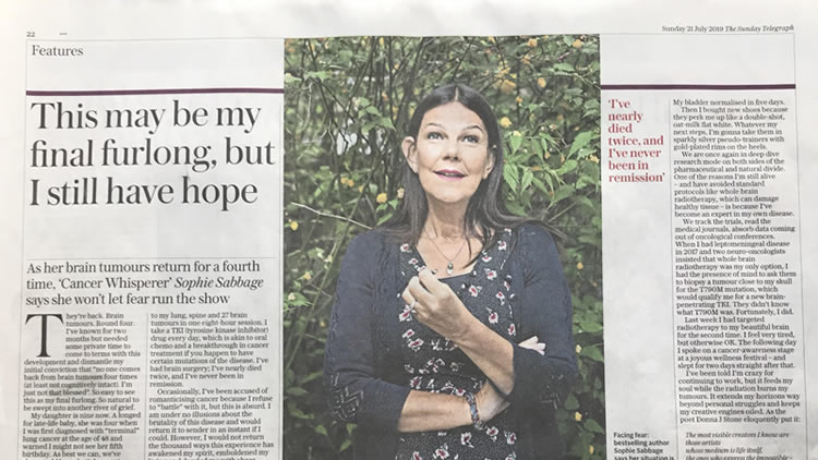 Published in the Sunday Telegraph | 21 July 2019 – Republished with kind permission of the Sunday Telegraph.