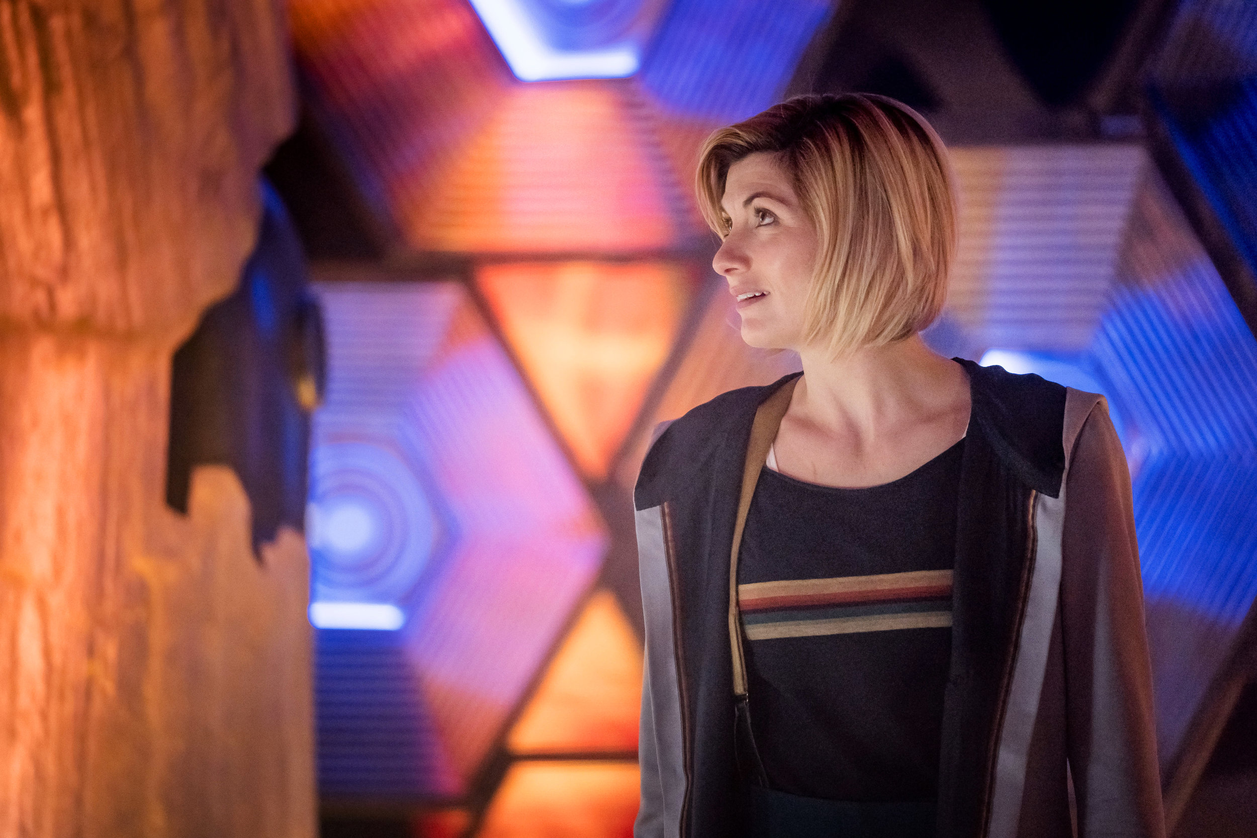Jodie Whittaker plays the Doctor, trapped at the Edge of Time