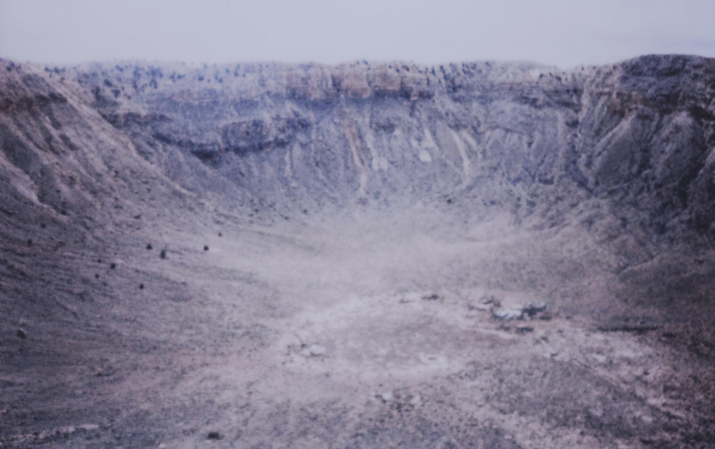 Meteor Crater (Canyon Diablo), Arizona : 50.000 ans ; 7.1% Ni; 0.46% Co; 0.26% P; 1% C; 1% S; 80ppm Ga; 320ppm Ge; 1,9ppm Ir © SMITH
