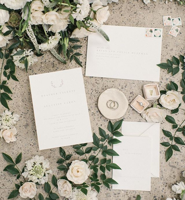 With The Elope Series' partnerships, you can send out custom invites, like these beauties, from @statuerue. #theelopeseries #elope #elopement #hamont #invitations #details #popupwedding #wedding #hamontweddings