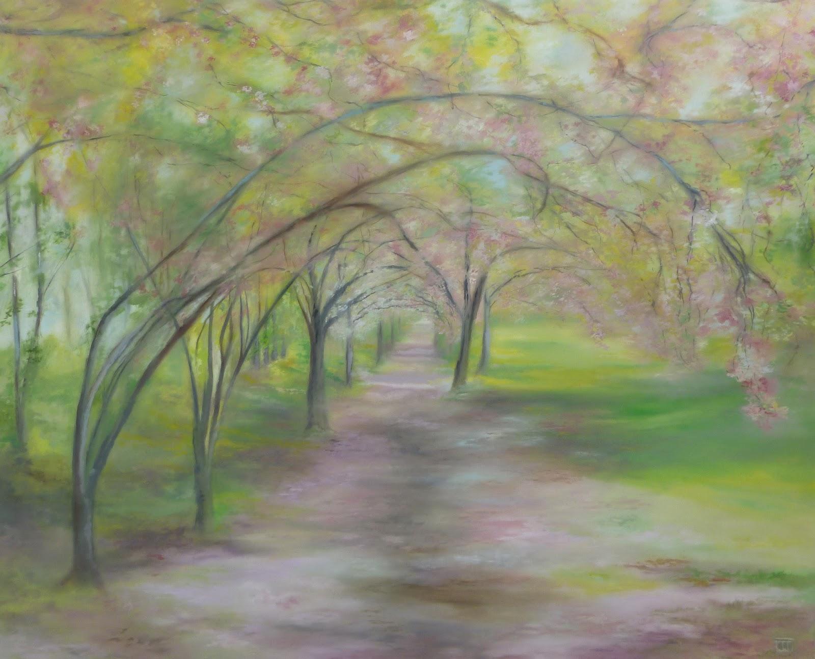 spring /central park n.y