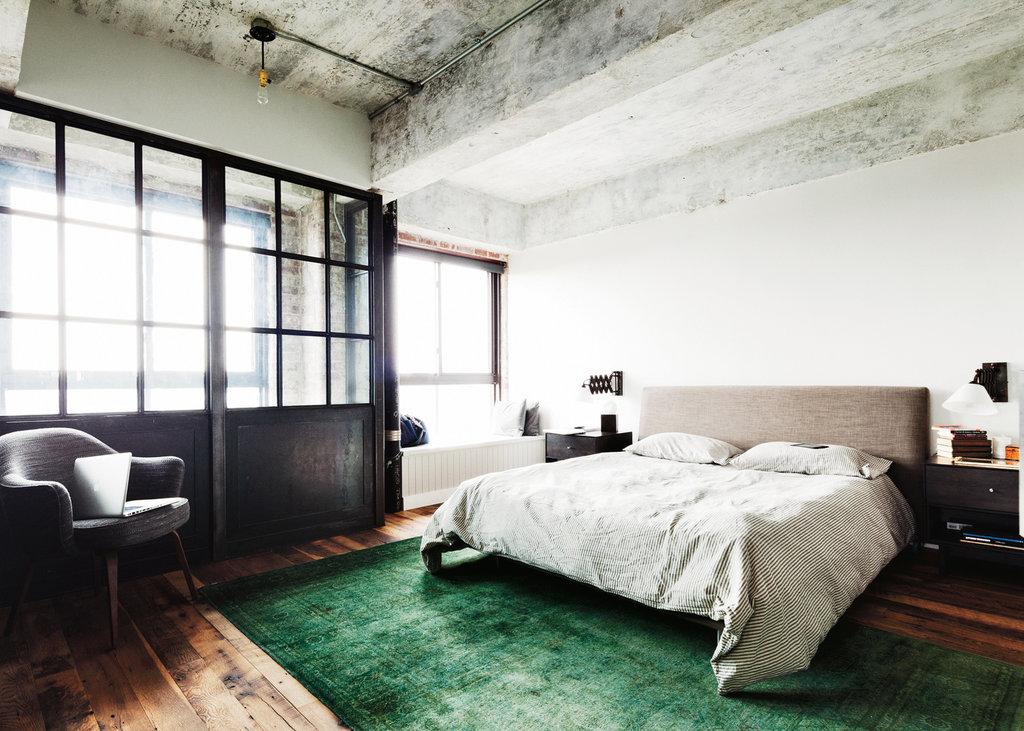 brooklyn loft , bedroom