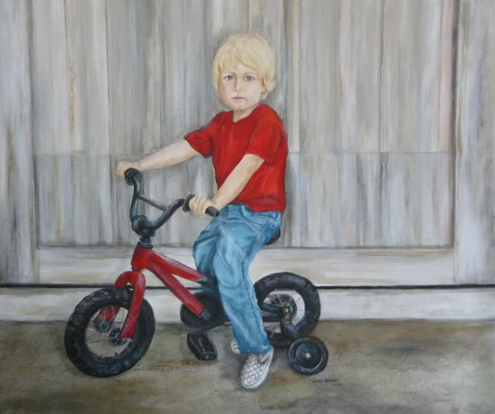 austin and his bike