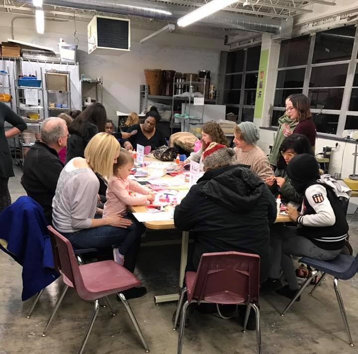 ArtMix+group+of+people+working+together+on+an+arts+project