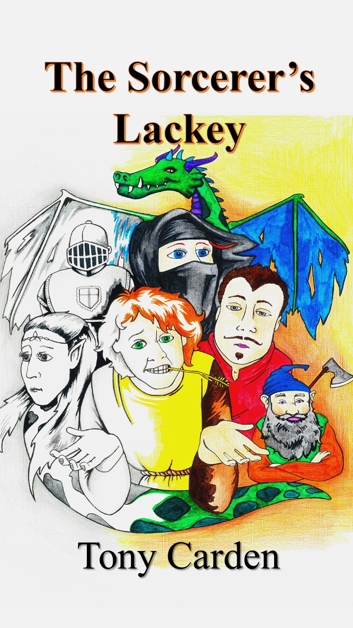 A comic fantasy adventure led by an unsuitable hero - A hopeless hero…A ruthless villain…A rabble of helpers…What could possibly go wrong?What could you not laugh at?And, yes, there's a dragon.