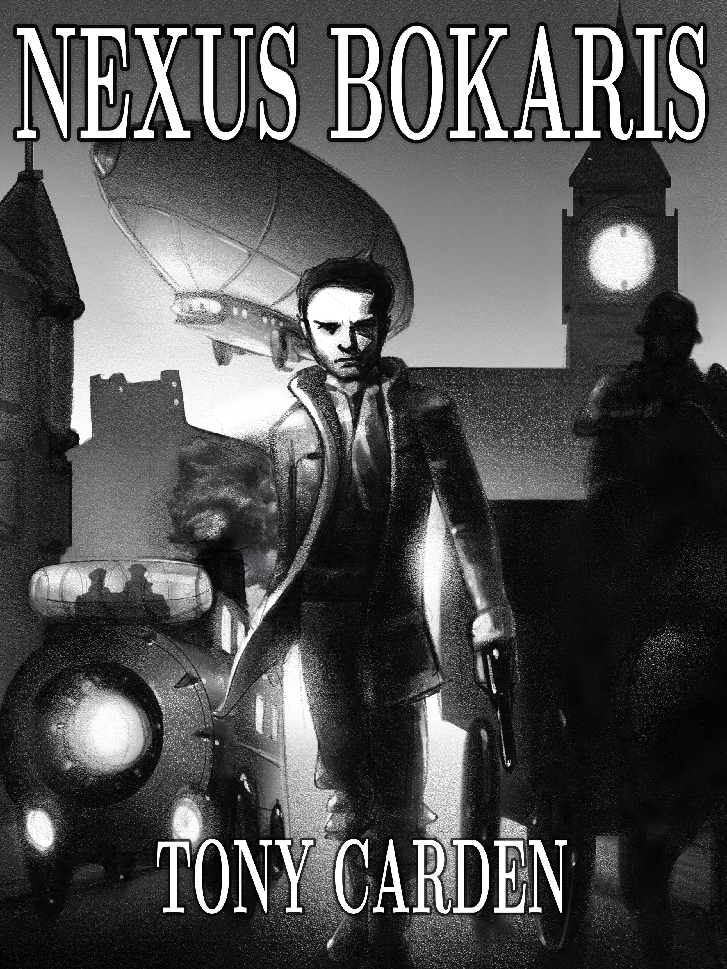 Nexus Bokharis: A Steampunk Novel - In a world dominated by big powers, the British Empire is facing attack and only the agents of the Bureau can work to stop the enemy's plans. Lafayette Dalton, ex-soldier and now Metropolitan Policeman, is recruited into the Bureau's ranks to act as guard to Viceroy Curzon on a tour of India.