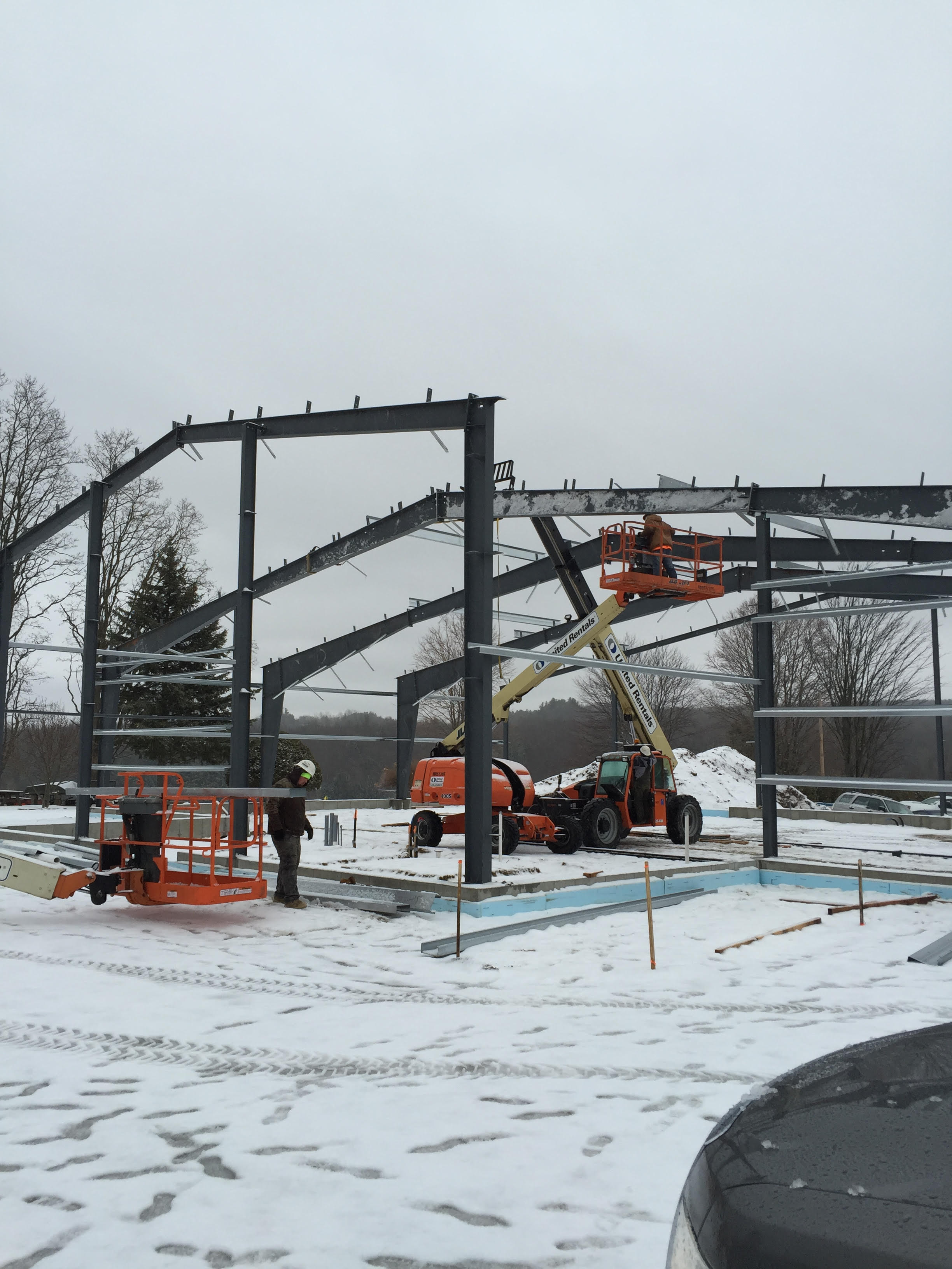 Nate's Automotive Structural Steel Erection