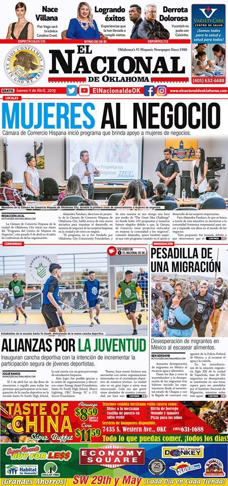 El Nacional de OK / April 2019 - Read Full Article