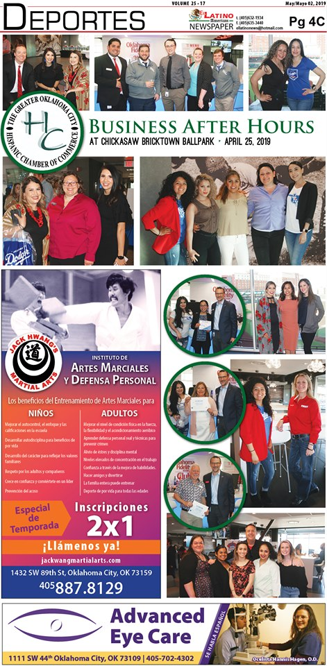 El Latino Newspaper/ April 25,2019 - Attending Business After Hours