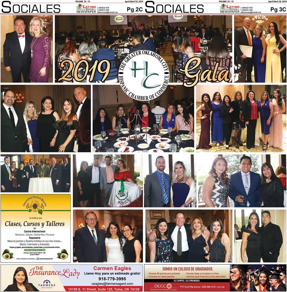 El Latino Newspaper - Attending the Greater OKC Hispanic Chamber Gala