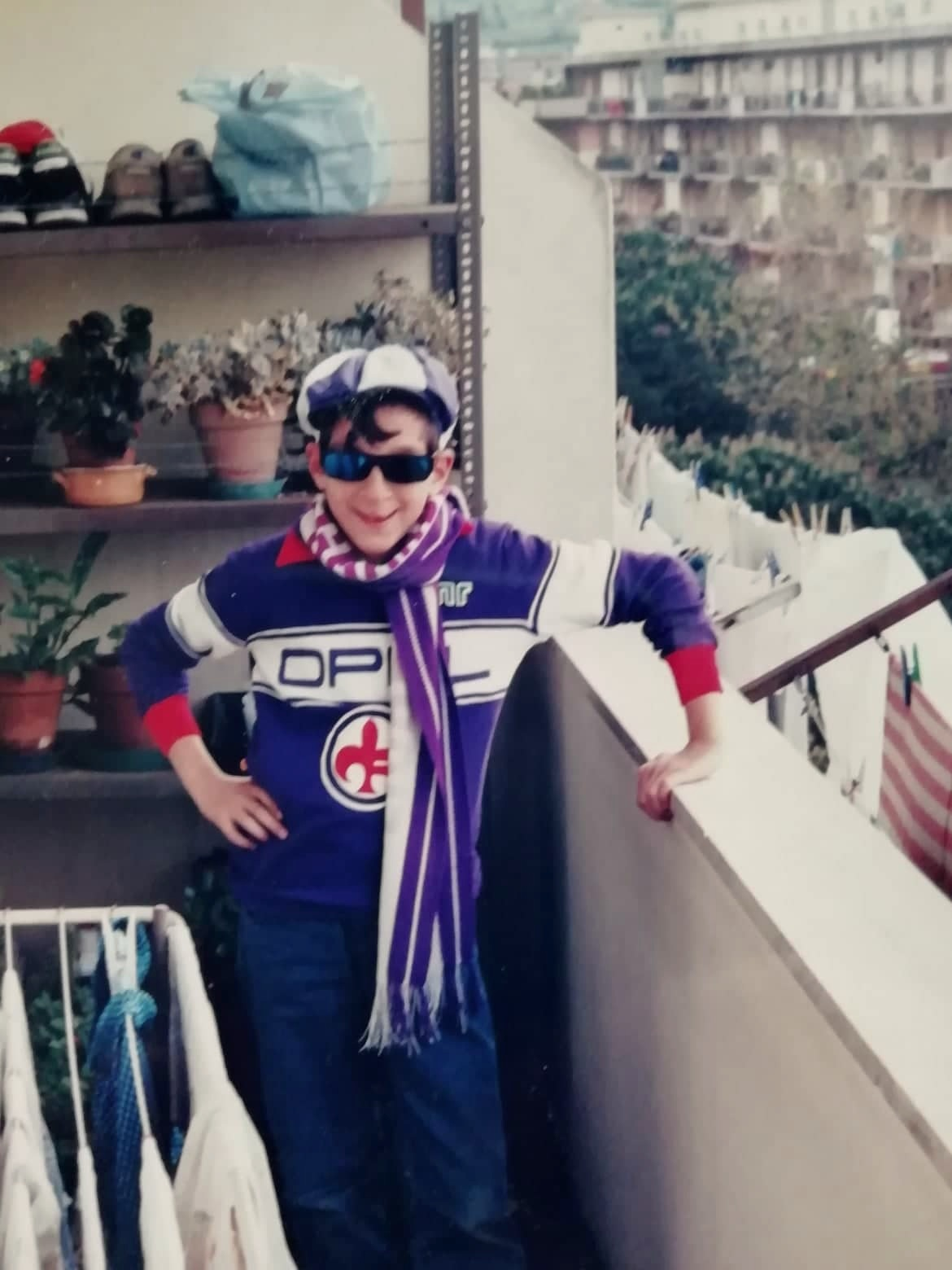 Myself as a young, Fiorentina fan