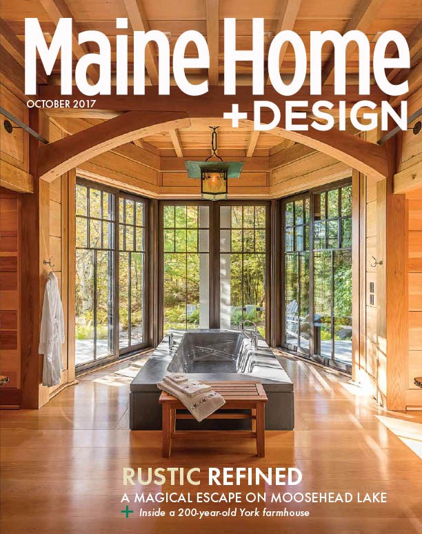 Maine Home+Design, October, 2017   We're Not in Kansas Anymore