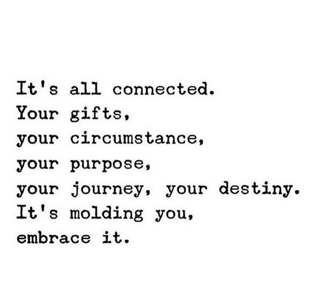 Embrace your calling #purpose
