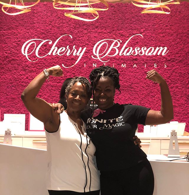 Tonight I listened and shared  in a conversation with another breast cancer warrior  @cherryblossomintimates in honor of #breastcancerawarenessmonth Gods amazing grace. Thanks @_antoniamichaela @_mommymatters for hosting this intimate event.