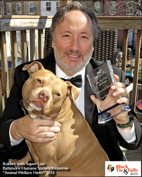 """This is my acceptance speech of the 2016 """"Animal Welfare Hero"""" Award at the Baltimore Humane Society Black Tie and Tails Gala & Benefit held on March 16th, 2016… -"""