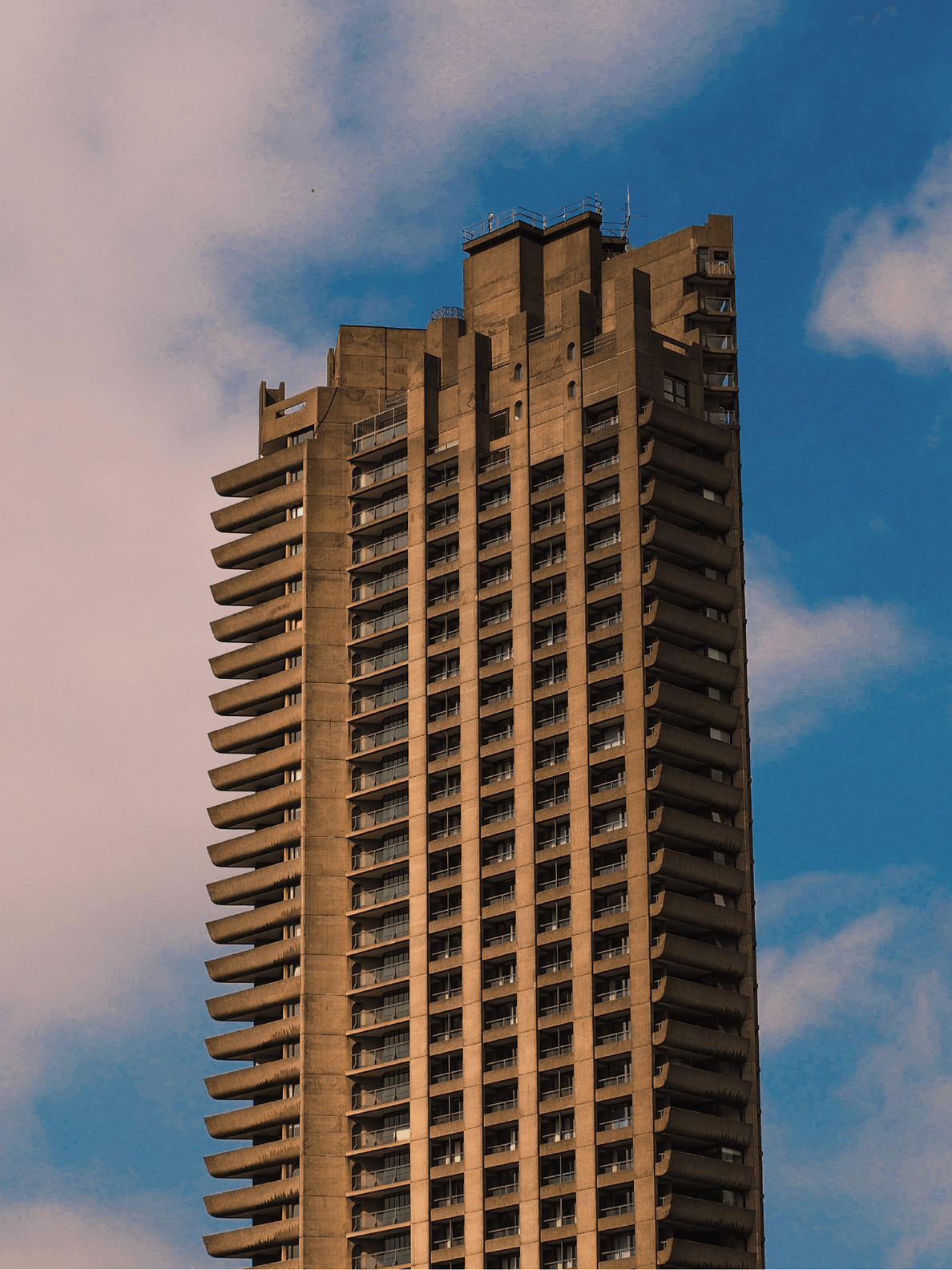 The Barbican Estate of London, my first encounter with a work of Brutalism