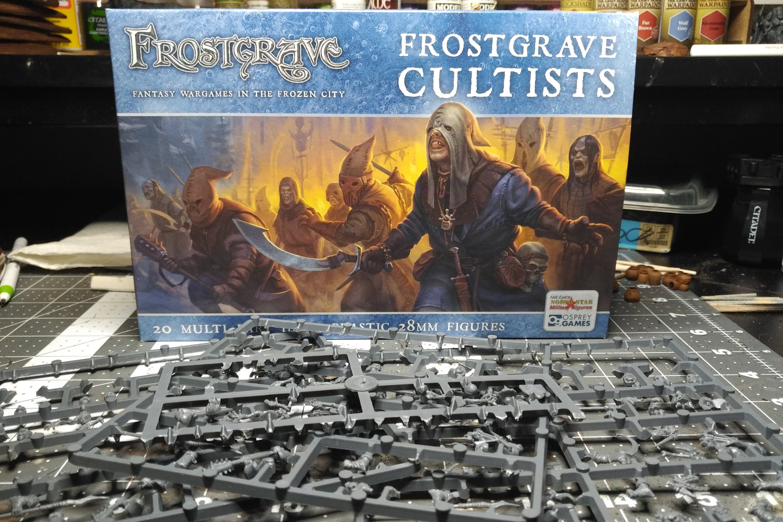 Frostgrave: Cultists - Sister Hazel, Satheris, and the Cult of Dagon