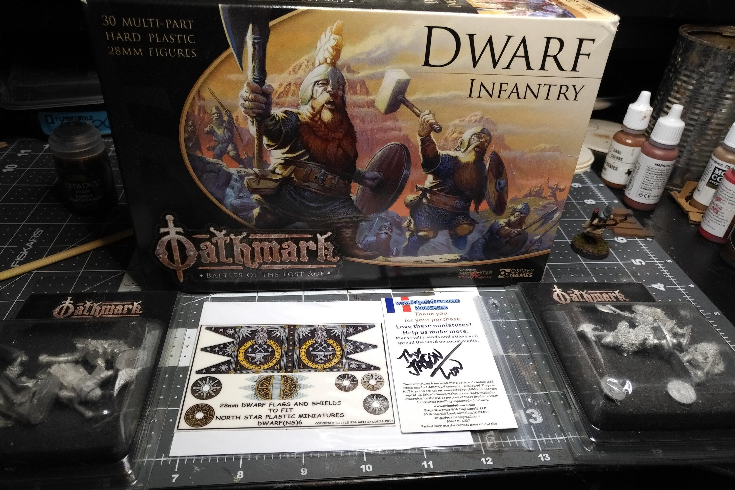 Oathmark: Dwarf Infantry -