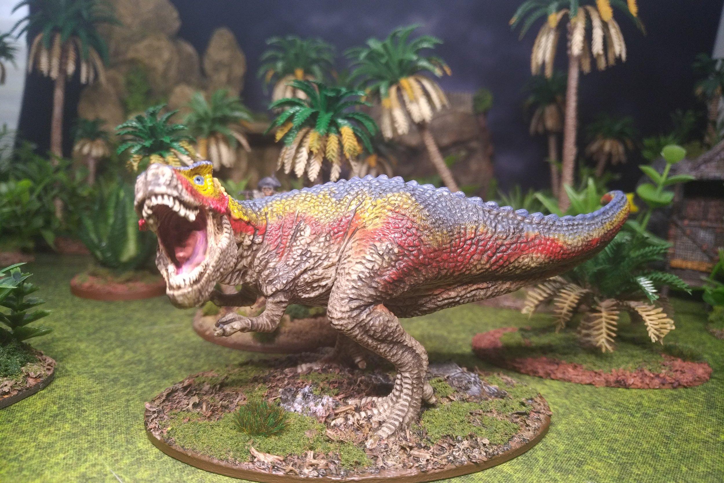 Saurian Monarch (Tyrannosaurus Rex)  Sculpted by Schleich