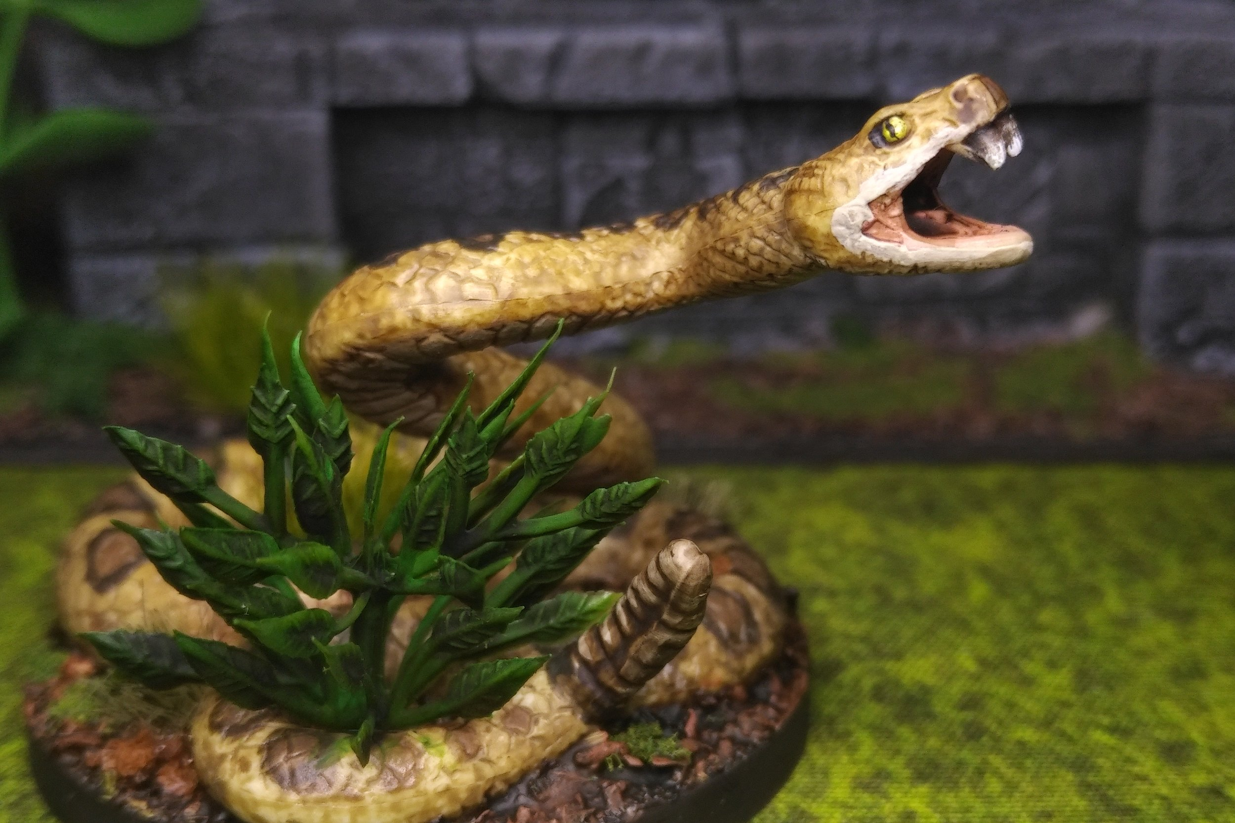 Giant Snake  REpurposed Childrens toy