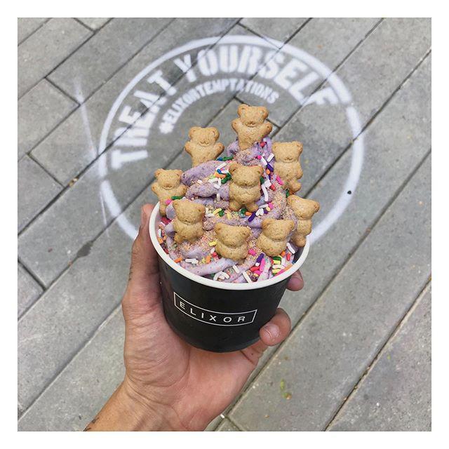 Bear-ry with Sprinkles #treatyourself