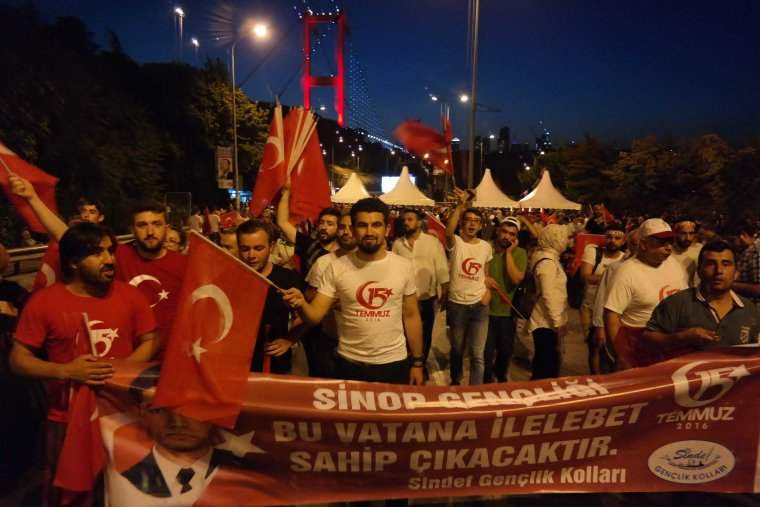 Dispatches: July 15th Rally in Istanbul   For millions of Turkish people, the highlight of that Sunday was not the 2018 World Cup final.