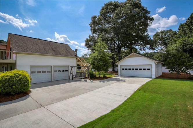 Two Garages at Lake Allatoona Parking Storage Home Improvement.jpg