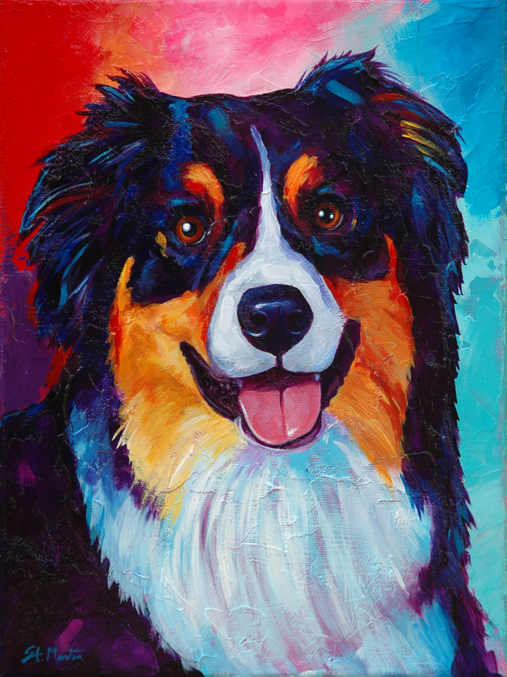 Colorful Personalities - Pet Portrait Pricing