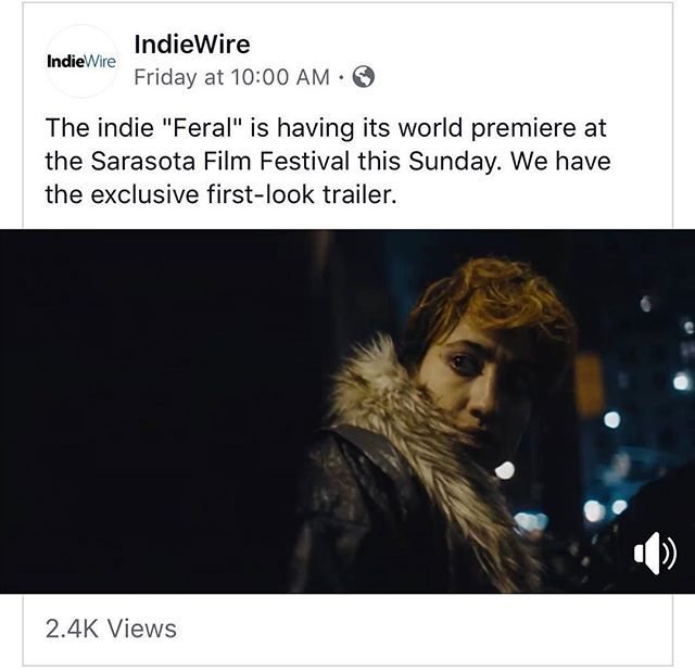 Throwback to @indiewire releasing our trailer!!! See link in bio to check it out! . . . . . #sarasota #sarasotafilmfestival #2019 #indiefilm #newyork #underground #tunnels #freedomtunnels #worldpremiere #film #filmmaking #feral #darkdays #blizzard #actor #moondog #cinema #graffiti #streetart #walls #tunnels #nyc #filmfestival #producer #director #independentfilm #mysff #bathroom #ladyjays #cinematography #film