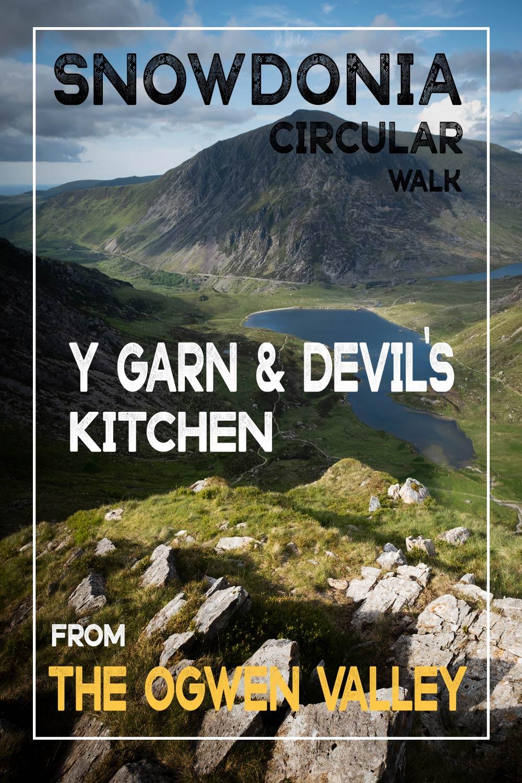 Y Garn To Devils Kitchen Walk Starting At The Ogwen Valley Snowdonia Ian Worth