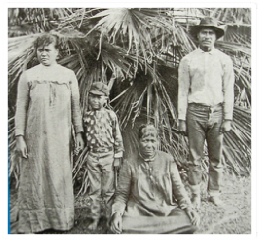 The Kaluaikoolau family. Hawaii State Archives