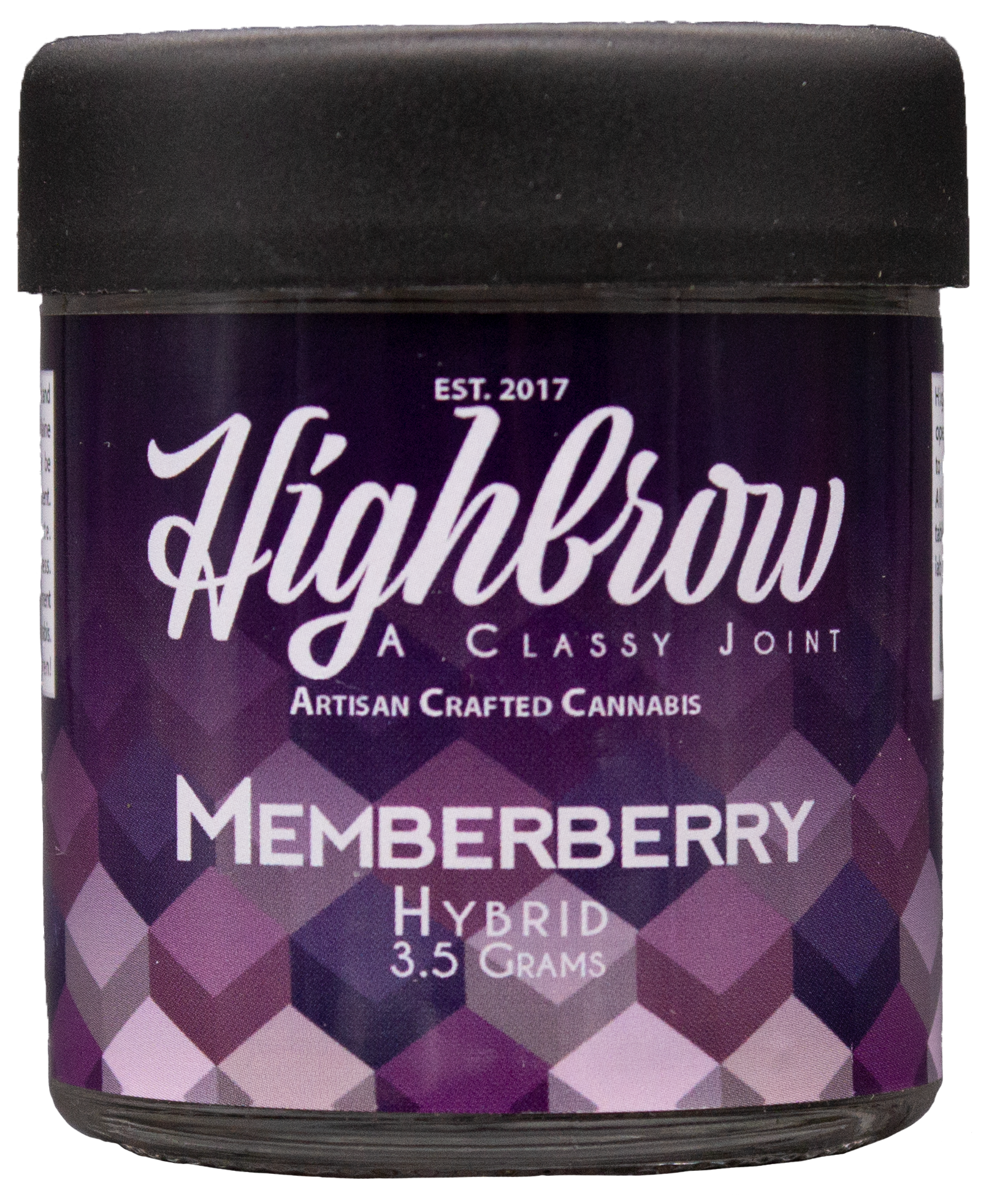 Memberberry - Deep, fruity, and blissful.