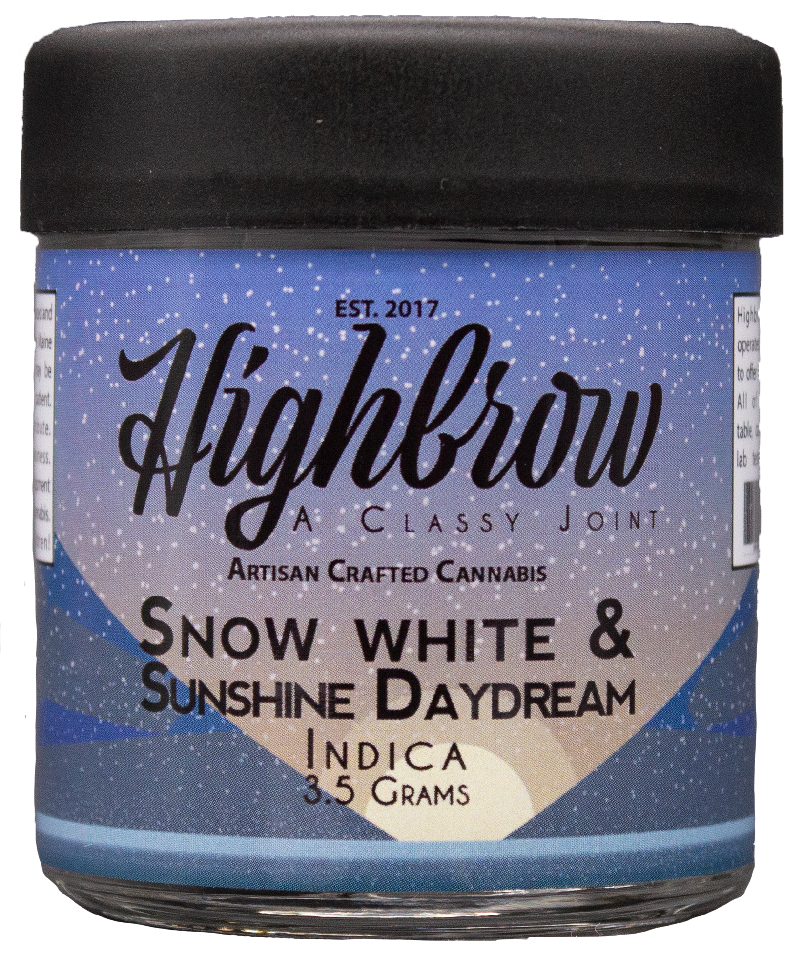 Snow White & Sunshine Daydream - It snows in this daydream paradise.