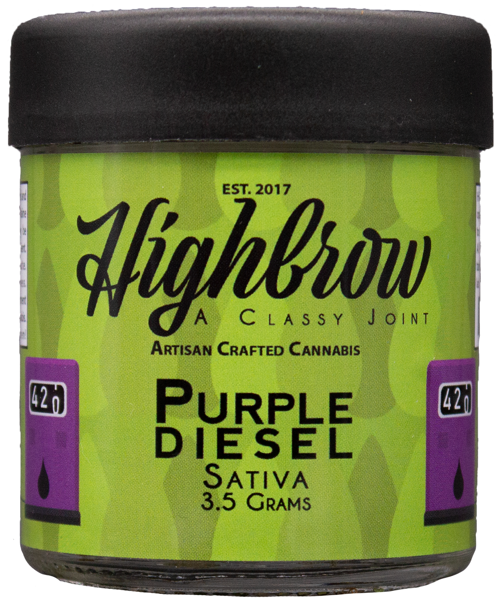 Purple Diesel - Fuel for your day.