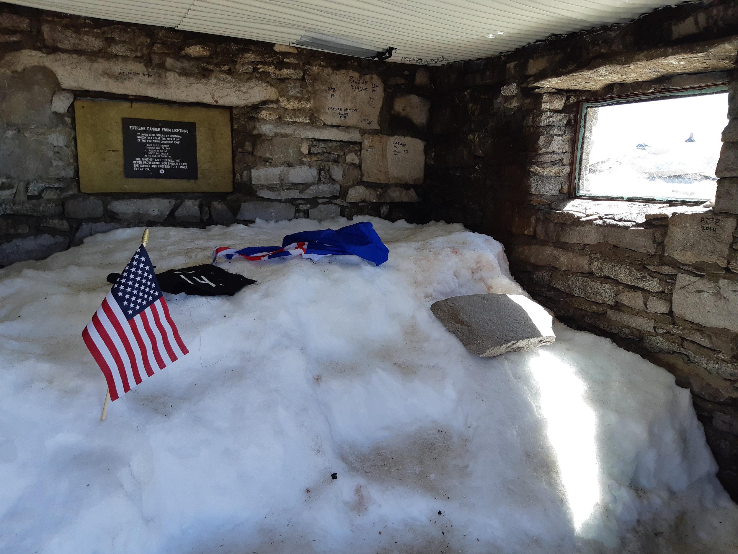 Mount Whitney Shelter 14,505 ft