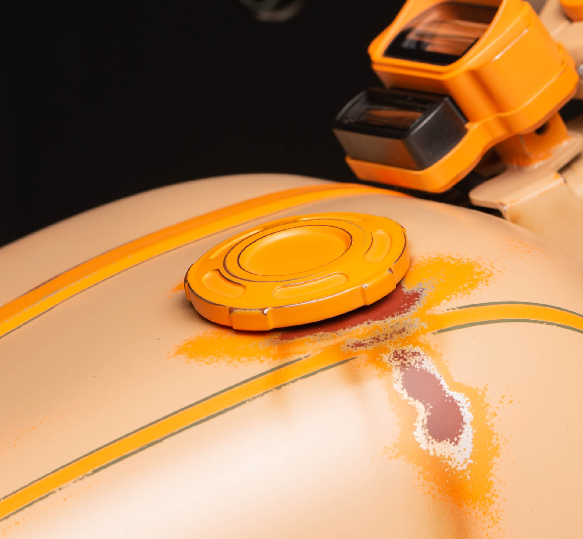 Harley-Davidson Dominion Collection Fuel Cap - Part No. 61100107