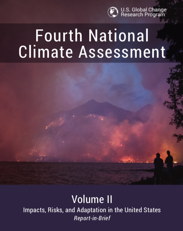 Summary report 4th National Climate Assessment