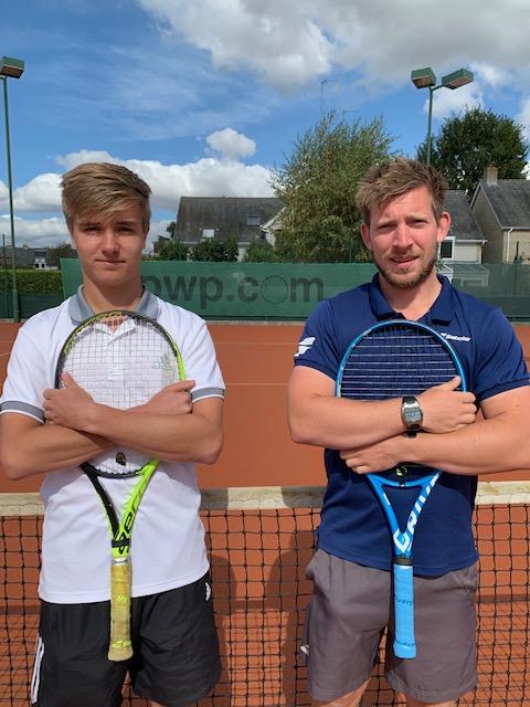 Mens Singles Finalists: Louis Appleby & Matt Perry